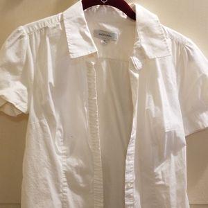 Merona tailored short sleeve blouse
